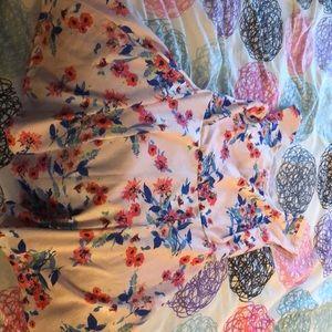 Candies flower dress, XL juniors